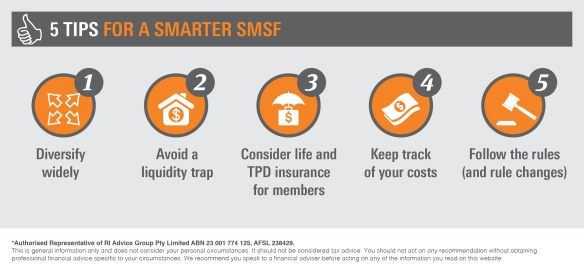 Infographic_5 tips for a smarter SMSF3
