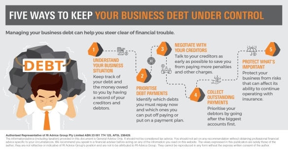 Infographic_Five ways to keep your business debt under control3