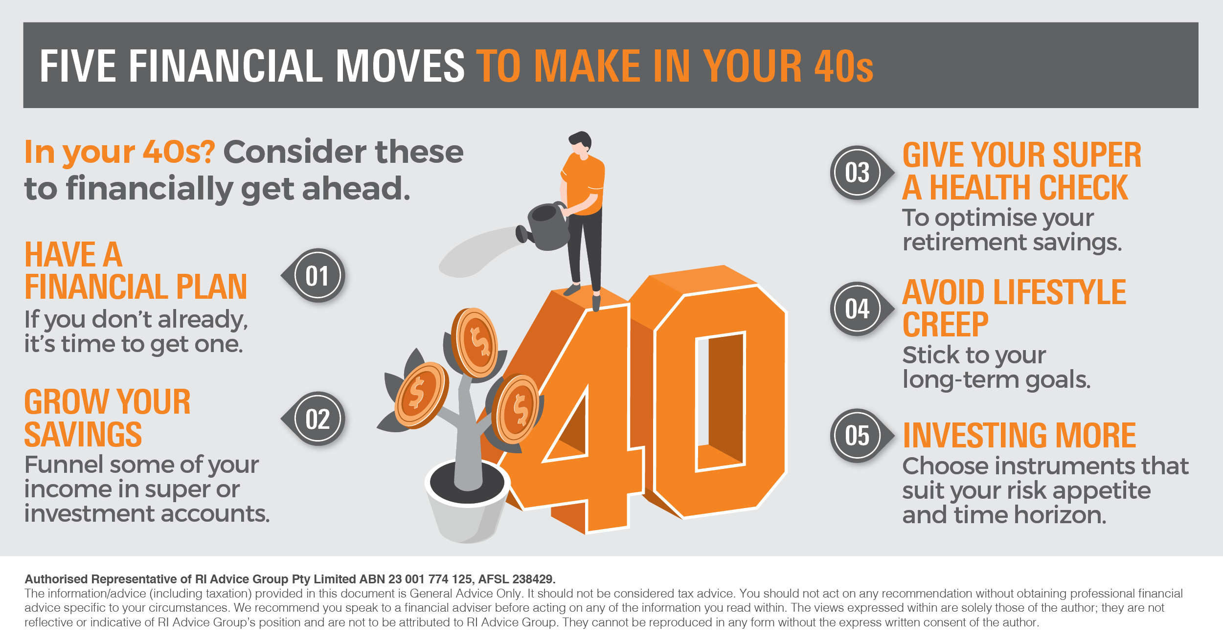 Infographic_Five financial moves to make in your 40s_RI
